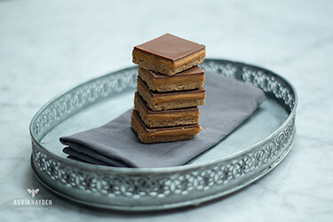 Millionaire's Shortbread. Photo by Kevin Hayden.